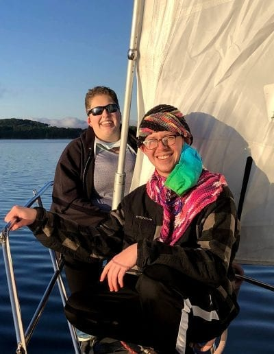 Sailing with HWVT